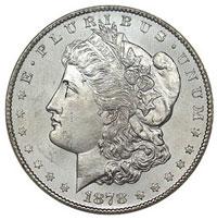 morgan dollar 1880 cc